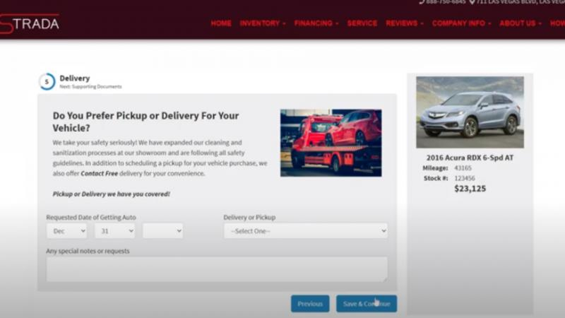 Vehicle Home Delivery Software